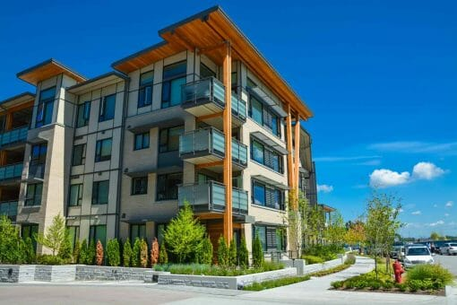 Low-Rise Apartment Building in Vancouver, BC